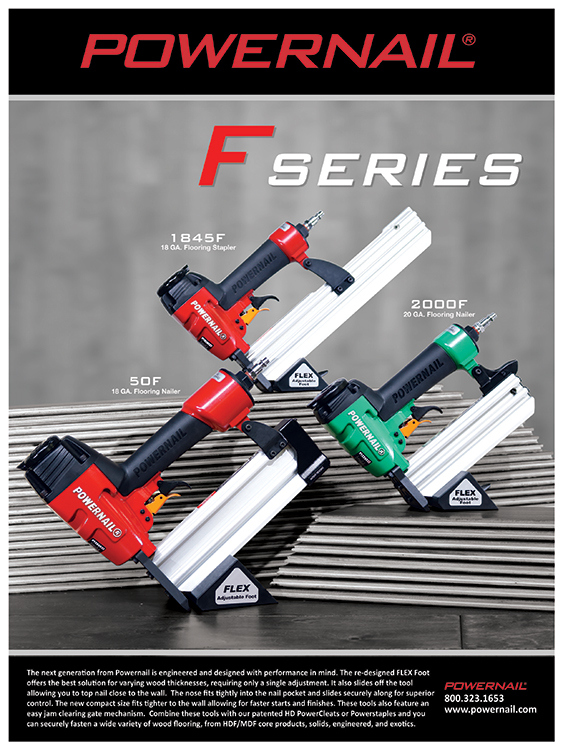 Powernail F-Series nailers