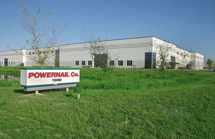Powernail facility - Lake Zurich IL