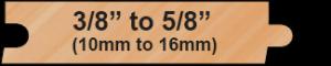 18 Gauge Wood Profile