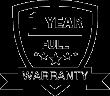 Full one year warranty