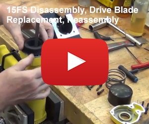 Nailer Disassembly, Drive Blade Replacement, Reassembly
