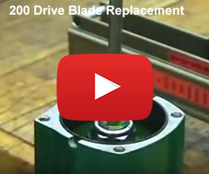 Drive Blade Replacement