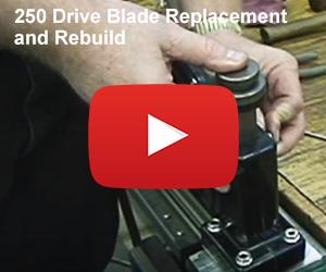 Drive Blade Replacment