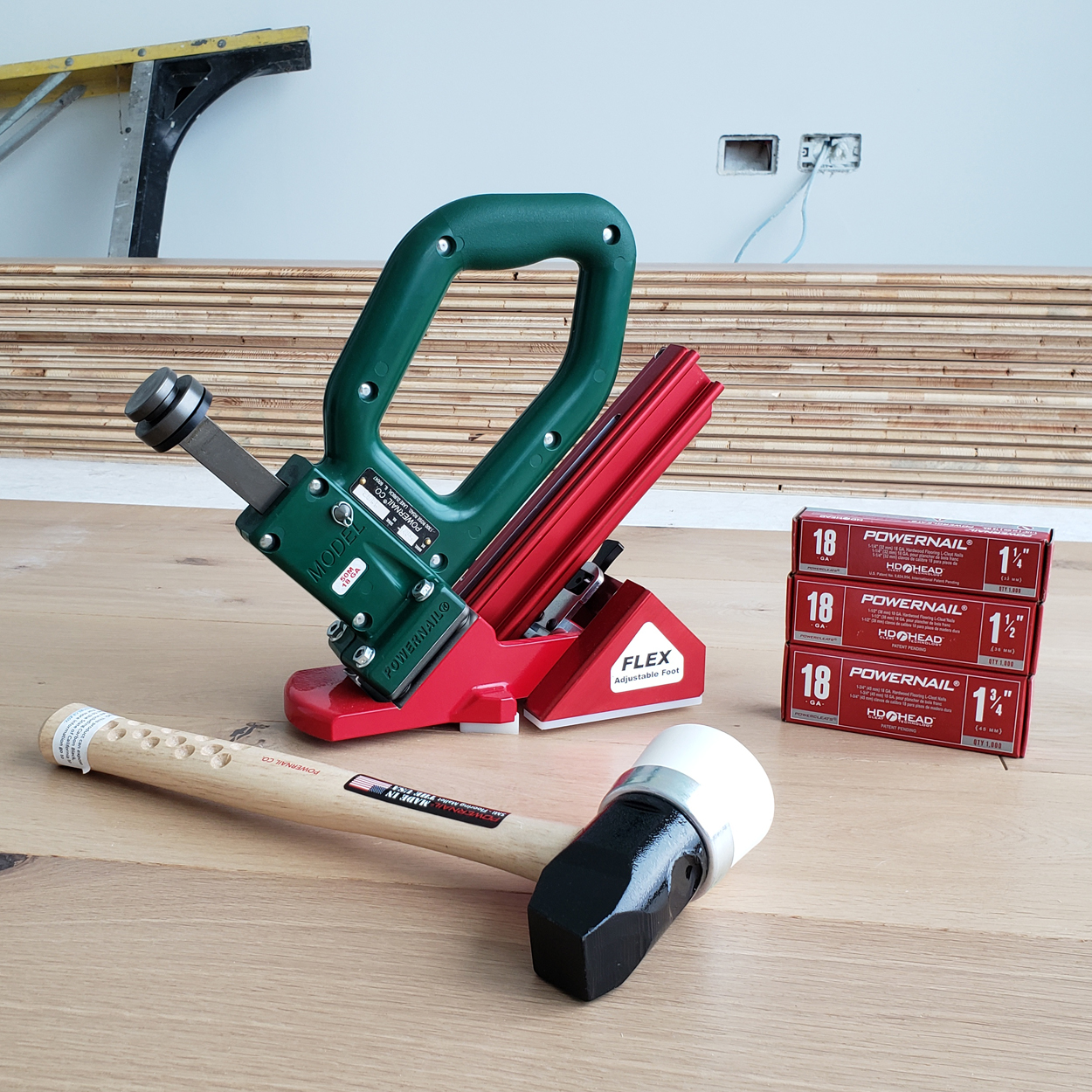 Powernail Model 50M FLEX Manual Flooring Nailer