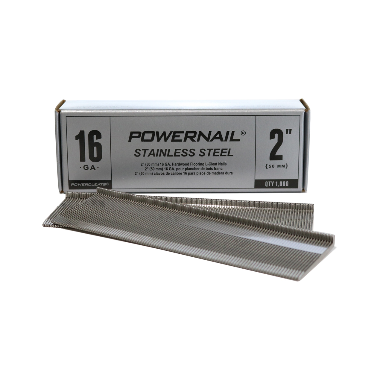 Powernail 16-Gauge Stainless Steel L Cleats