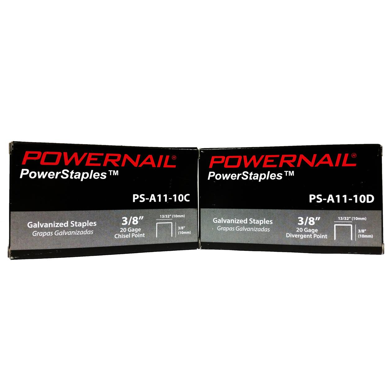 20 Ga. 13/32″ Crown PowerStaples™