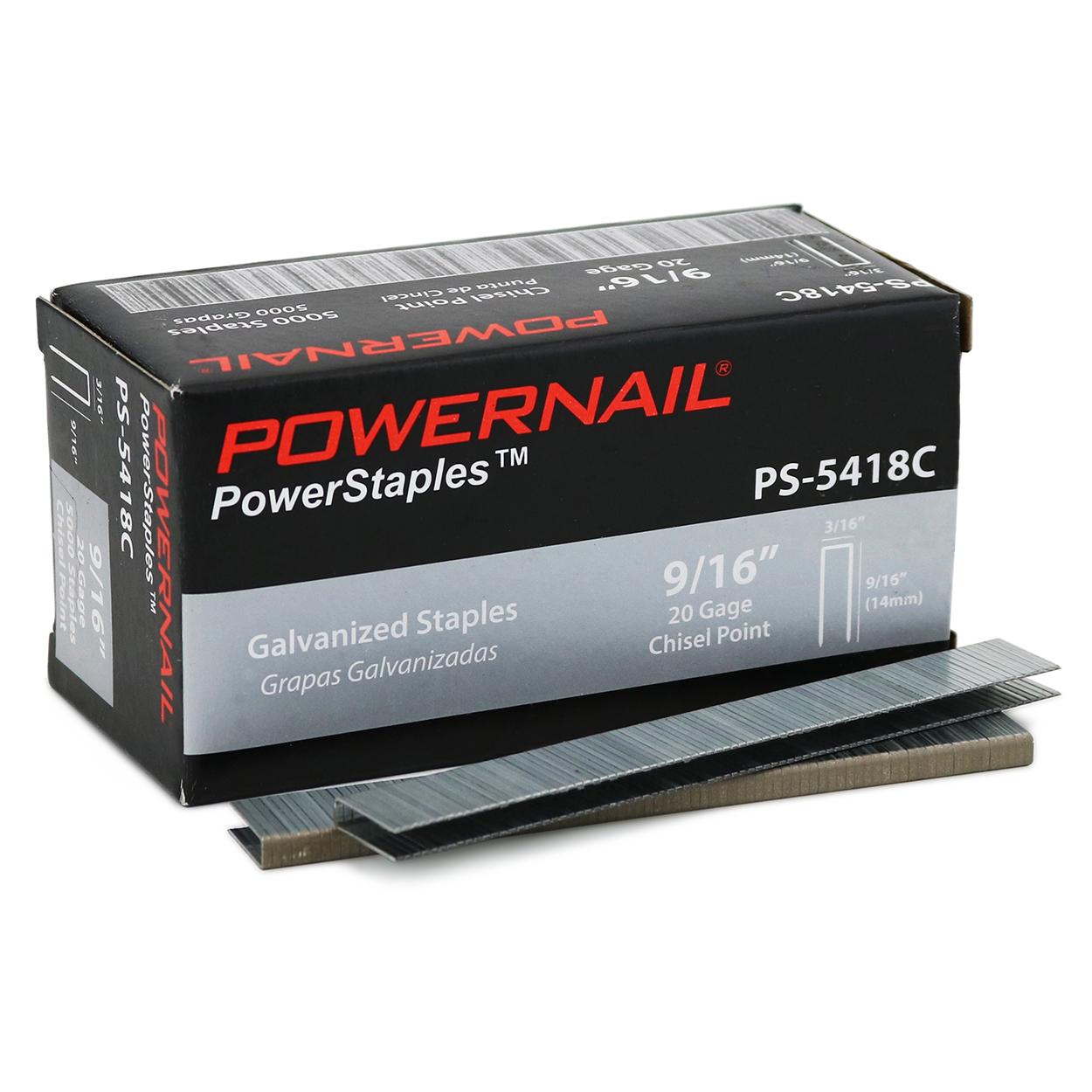 Powernail PS5418C staples