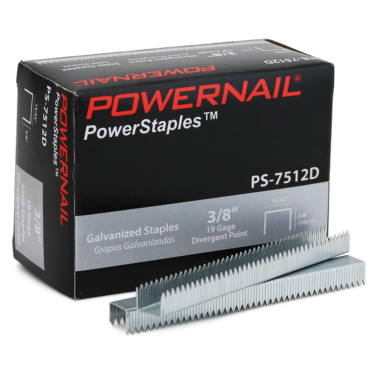 Powernail PS7512D staples