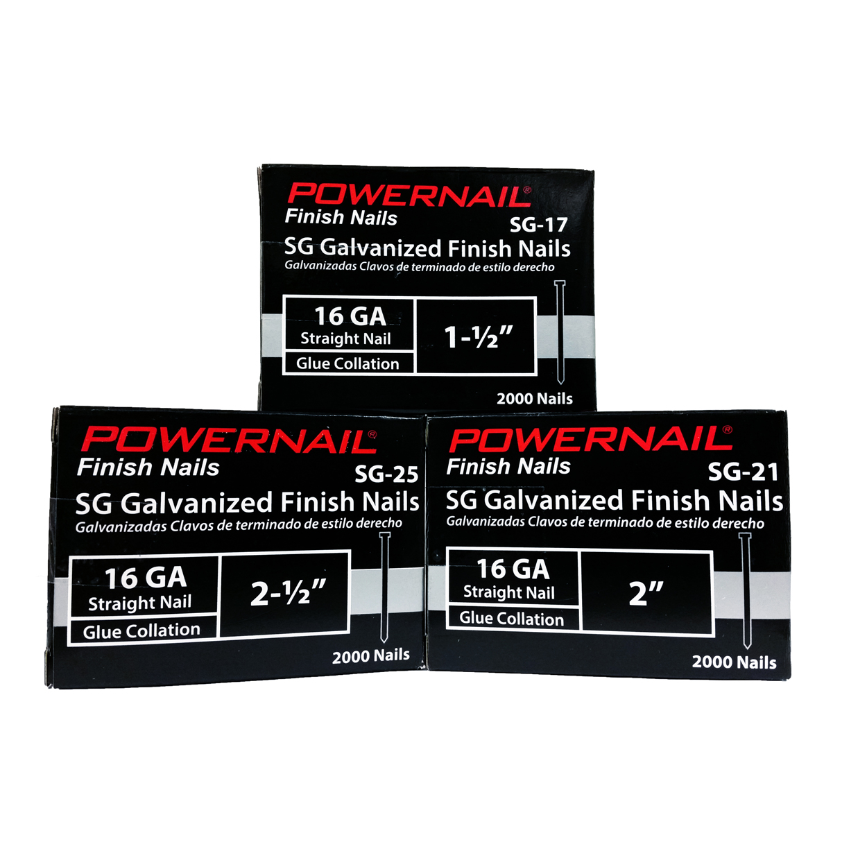 Powernail SG Series Finish Nails